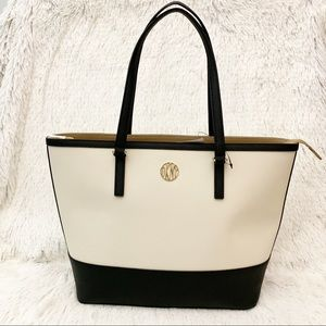 NWT  DKNY Bryant Park Saffiano Leather Bag / Tote